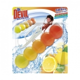 Odorizant WC 5 ball Lemon Fresh Dr Devil