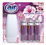 Odorizant pentru baie 3 x 15 ml Happy Spray Japanese Cherry Air Menline