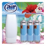 Odorizant pentru baie 3 x 15 ml Happy Spray Tahiti Paradise Air Menline