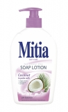 Sapun lichid cu pompita Coconut in Palm Milk 500 ml Mitia