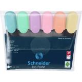 Textmarker Job Pastel 6 buc/set Schneider