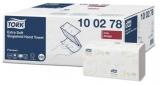 Prosoape hartie pliate Singlefold Extra Soft 15 pachete/cutie 100278 Tork