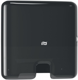 Dispenser prosoape hartie pliate Xpress Mini Multifold negru Tork
