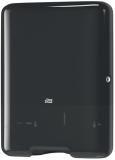 Dispenser prosop pliat Singlefold C-fold negru 553008 Tork