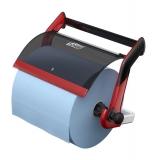 Dispenser rola industriala de perete negru/rosu 652108 Tork