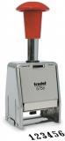 Inseriator automat cu 6 cifre suport metalic 4,5 mm Trodat