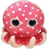 Jucarie Plus 15 cm Beanie Boos Ollie pink octopus TY