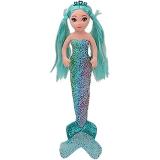 Jucarie plus 27 cm Ty Mermaids Azure foil aqua mermaid TY
