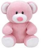 Jucarie plus 15 cm Baby Ty PRINCESS - pink bear TY
