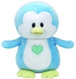 Jucarie Plus 15 cm Baby Ty Twinkles Blue Penguin Ty