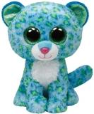 Jucarie Plus 24 cm Beanie Boos Leona blue leopard TY