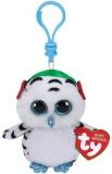 Jucarie plus cu breloc 8.5 cm Beanie Boos NESTER - owl TY