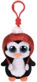 Jucarie plus cu breloc 8.5 cm Beanie Boos Gale Penguin TY