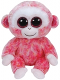 Jucarie Plus 15 cm Beanie Boos Ruby red/white monkey TY
