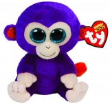 Jucarie Plus 15 cm Beanie Boos Grapes monkey TY