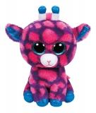 Jucarie Plus 15 cm Beanie Boos Sky High 15 pink giraffe TY