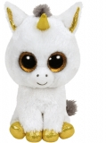 Jucarie plus 15 cm Beanie Boos PEGASUS - white unicorn TY