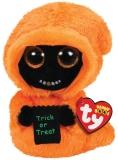 Jucarie plus 15 cm Beanie Boos GRINNER - orange ghoul TY