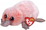 Jucarie plus 15 cm Beanie Boos WILMA - pink platypus TY