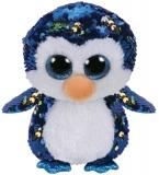 Jucarie plus 15 cm Beanie Boos Flippables PAYTON - penguin TY