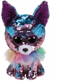 Jucarie plus 15 cm Beanie Boos Flippables YAPPY - chihuahua TY