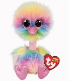 Jucarie plus 15 cm Beanie Boos Pastel Ostrich TY