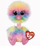 Jucarie plus 24 cm Beanie Boos Pastel Ostrich TY