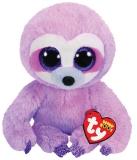 Jucarie plus 15 cm Beanie Boos Dreamy Purple Sloth TY