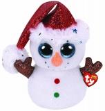 Jucarie plus 42 cm Beanie Boos Flurry Snowman TY