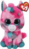 Jucarie plus 15 cm Beanie Boos Gumball pink-aqua unicorn TY