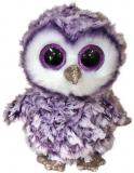 Jucarie plus 15 cm Beanie Boos Moonlight Purple Owl TY