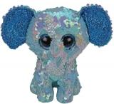 Jucarie plus 15 cm Beanie Boos Flippables Stuart Elephant TY