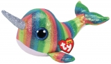 Jucarie plus 24 cm Beanie Boos NORI - multicolor narwhal TY