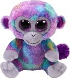Jucarie plus 24 cm Beanie Boos ZURI - multicolor monkey TY