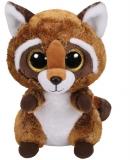 Jucarie plus 24 cm Beanie Boos RUSTY - raccoon TY