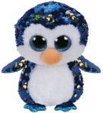 Jucarie plus 24 cm Beanie Boos Flippables PAYTON - penguin TY