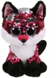 Jucarie plus 24 cm Beanie Boos Flippables JEWEL - fox TY