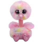 Jucarie plus 24 cm Beanie Boos Avery pastell ostrich TY