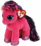 Jucarie plus 15 cm Beanie Boos RUBY - pink pony TY