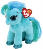Jucarie plus 15 cm Beanie Boos TOPAZ - teal pony TY