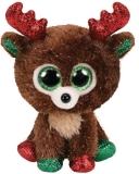 Jucarie plus 15 cm Beanie Boos Fudge Reindeer TY