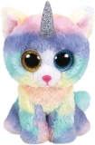 Jucarie plus 42 cm Beanie Boos Heather Cat With Horn TY