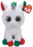 Jucarie plus 42 cm Beanie Boos Candy Cane Unicorn TY