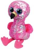 Jucarie plus 42 cm Beanie Boos Flippables Pinky Flamingo TY