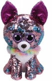 Jucarie plus 42 cm Beanie Boos Flippables Yappy Chihuahua TY