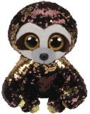 Jucarie plus 24 cm Beanie Boos Flippables Dangler Sloth TY