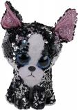 Jucarie plus 24 cm Beanie Boos Flippables Portia Terrier TY