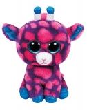 Jucarie Plus 24 cm Beanie Boos Sky High pink giraffe TY