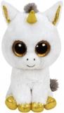 Jucarie plus 24 cm Beanie Boos PEGASUS - white unicorn TY