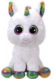 Jucarie plus 42 cm Beanie Boos PIXY - white unicorn TY